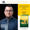 Dr. Emory Daniel Author Spotlight